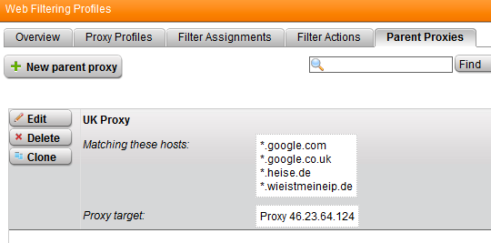 Using parent proxies with Sophos UTM or Astaro ASG - Network Guy