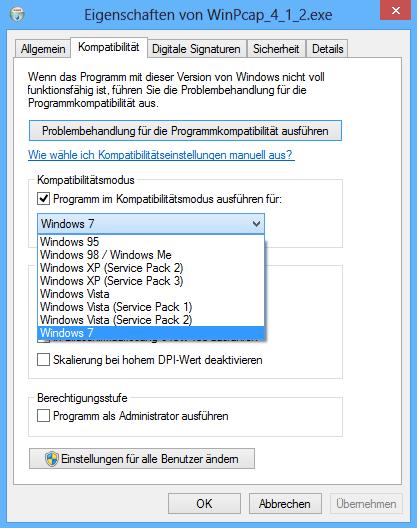 Wireshark with Windows 8 - Network Guy