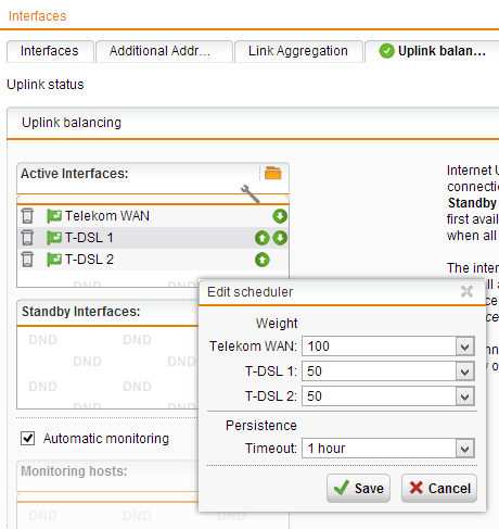 uplink-balancing
