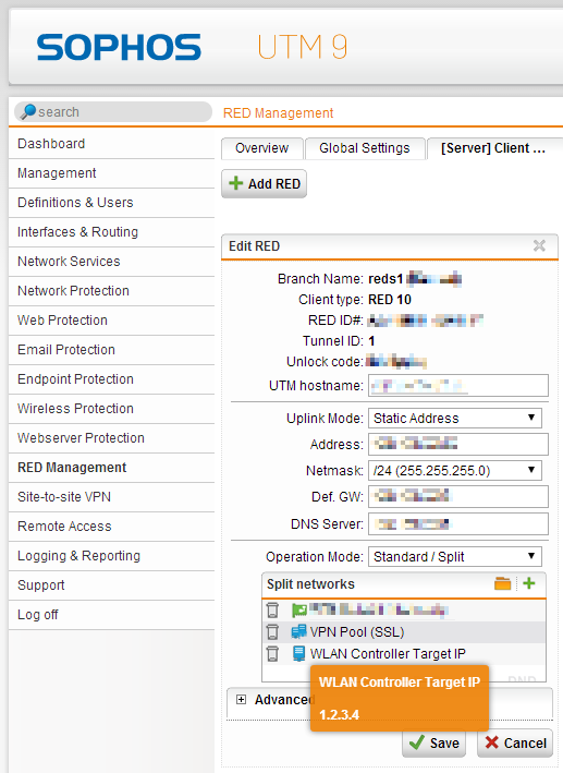Using Sophos Access Points behind a RED – Network Guy