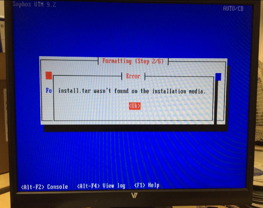 install.tar-problem
