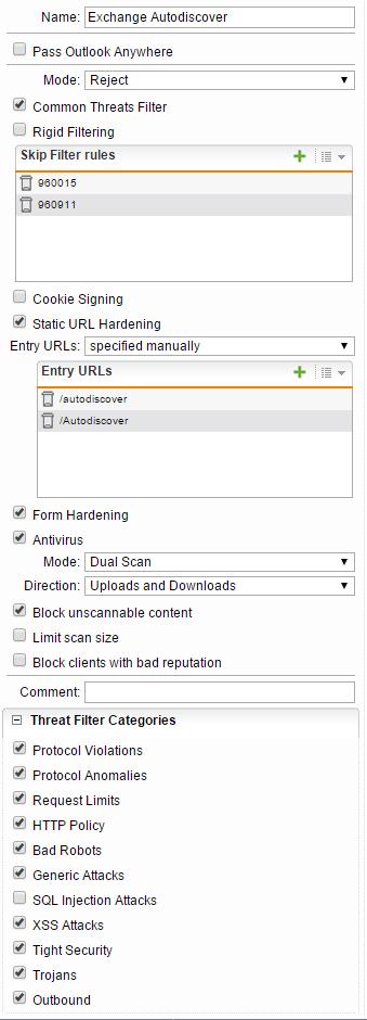 Secure Exchange Webservices with Sophos UTM WAF - Network Guy
