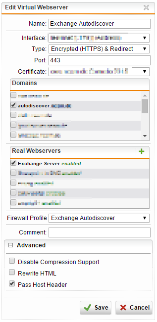 Secure Exchange Webservices with Sophos UTM WAF - Network Guy