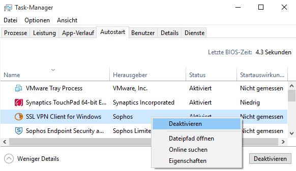 Auto-Logon with Sophos SSL VPN Client (OpenVPN) - Network Guy
