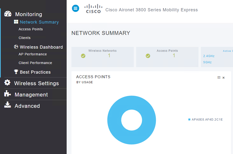 Building up a Cisco mobility express environment - Network Guy